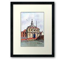 Kings Lynn Customs House - Watercolour Framed Print