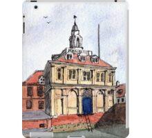 Kings Lynn Customs House - Watercolour iPad Case/Skin