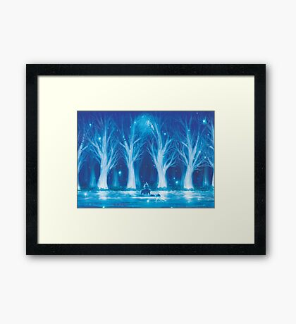 Life Stream (Second Run - 37 Left!) Framed Print