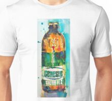 Genesee Cream Ale Beer Art Print - Original Watercolor  Unisex T-Shirt