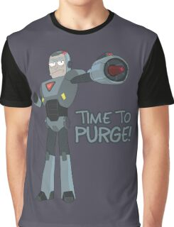 Rick and Morty – Time to Purge! Graphic T-Shirt