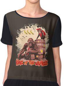 Donkey Kong - King of the Jungle Chiffon Top