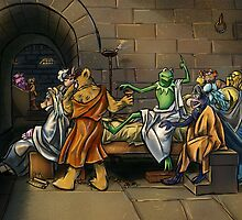 Muppet Death of Socrates by ZacharyStaton