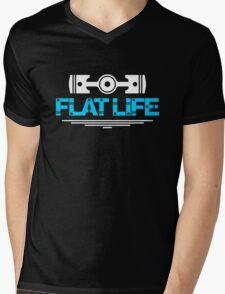 Flat Life (1) Mens V-Neck T-Shirt