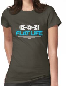 Flat Life (1) Womens Fitted T-Shirt