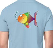 TROPICAL FISH, Rainbow, Cartoon Unisex T-Shirt