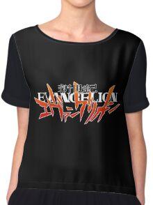 Neon Genesis Evangelion - Anime Logo Chiffon Top