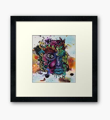 Vivid Awareness Framed Print