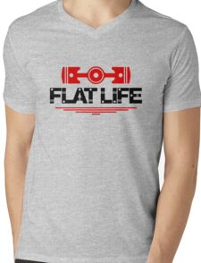 Flat Life (5) Mens V-Neck T-Shirt