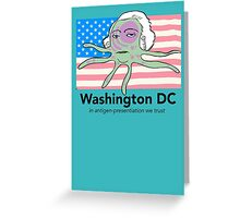 Star spangled dendrite Greeting Card