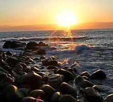 Sennen Cove Sunset by mpstone
