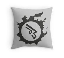 Final Fantasy 14 logo MCH Throw Pillow