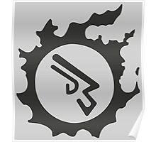 Final Fantasy 14 logo MCH Poster