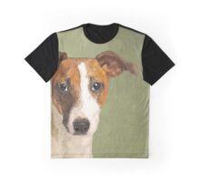 Jack Russell Terrier Portrait Graphic T-Shirt