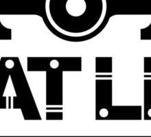 Flat Life (6) Sticker