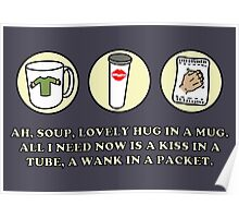 Peep Show – Lovely Hug in a Mug Poster