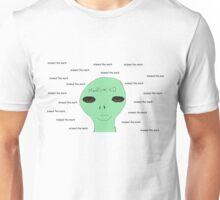 Medium xD Classic Alien Logo Shirt Unisex T-Shirt