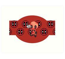 Hail Hydra! Deadpool Art Print