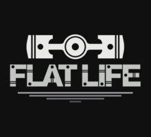Flat Life (4) Kids Tee