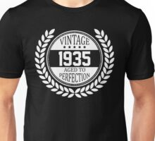 Vintage 1935 Aged To Perfection Unisex T-Shirt