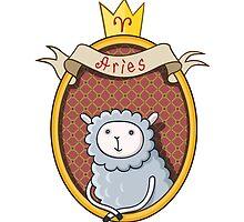 Aries. Cartoon horoscope. by shizayats