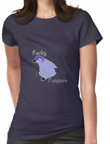 Perky Penguin Womens Fitted T-Shirt