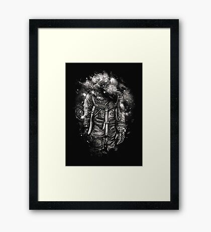 Lost In Cosmic Shades Framed Print