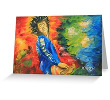 Jimmy Page#1 Greeting Card