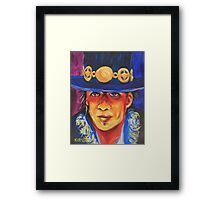Stevie Ray Vaughan #1 Framed Print