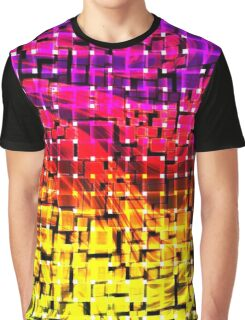 Fury Behind the Squares Graphic T-Shirt