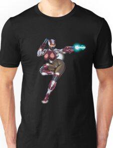 Sexy Space Fighter Unisex T-Shirt