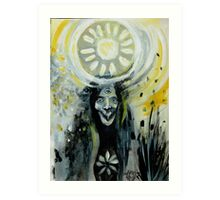 The Three-eyed Necromancer  Art Print