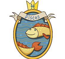 Pisces. Cartoon horoscope. by shizayats
