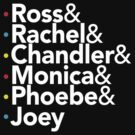 Friends TV Show Helvetica by BootsBoots