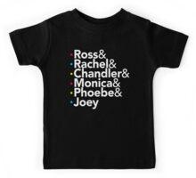 Friends TV Show Helvetica Kids Tee