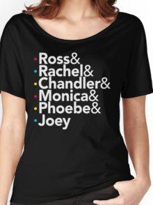 Friends TV Show Helvetica Women's Relaxed Fit T-Shirt