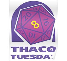 THAC0 Tuesday Poster