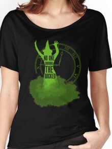 No one mourns the wicked Women's Relaxed Fit T-Shirt
