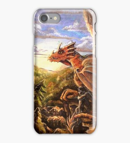 The Dragon of Unrest iPhone Case/Skin