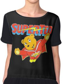 Super Ted Chiffon Top