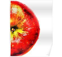 Apple Fruit Poster