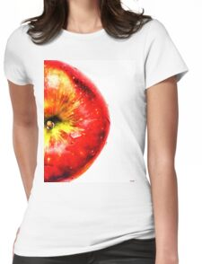 Apple Fruit Womens Fitted T-Shirt