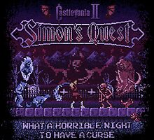 Simon's Vania Castle Quest by likelikes