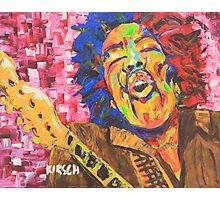 Jimi Hendrix #3 Photographic Print