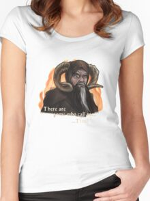 Tim the enchanter Women's Fitted Scoop T-Shirt