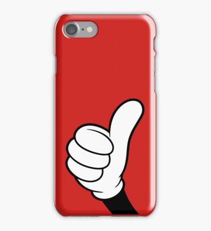 Cool Thumbs up iPhone Case/Skin
