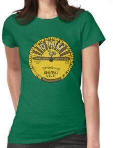 DMU (Sun Logo) Womens Fitted T-Shirt