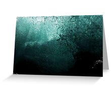 #1137  -  Submerged Greeting Card