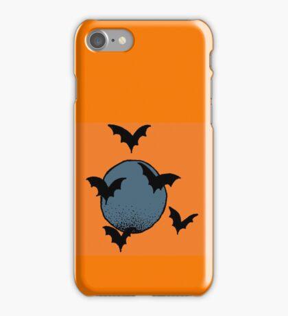 Bats ~ Blue iPhone Case/Skin