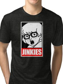 Jinkies, I'm a meme! Tri-blend T-Shirt